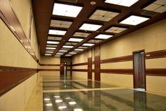 Long corridor Royalty Free Stock Photography