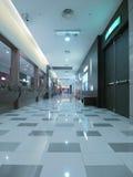 Long corridor. In modern building Royalty Free Stock Photos