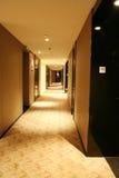 Long corridor. In modern hotel Royalty Free Stock Photography