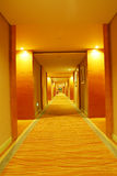 Long corridor Stock Photo