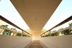 Long corridor Stock Images