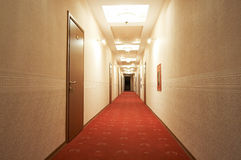 Long corridor Stock Image