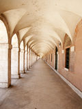 Long corridor Stock Photography