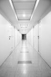 Long corridor. Long empty corridor in hotel Royalty Free Stock Photos