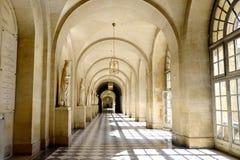 Long Corridor in grand  palace Stock Image