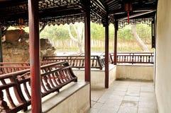The Long Corridor in Humble Administrator's Garden Stock Photography