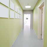 Long corridor Royalty Free Stock Images