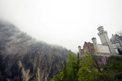 The Neuschwanstein Castle in Germany Royalty Free Stock Photography
