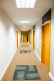 Long corridor Royalty Free Stock Image