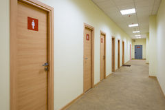 A long corridor Royalty Free Stock Photography