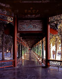 The long corridor of Summer Palace Royalty Free Stock Photos