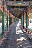 The Long Corridor in the Summer Palace Stock Image