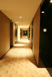 Long couloir Photographie stock libre de droits