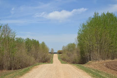 Long country road Stock Image