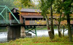 Long Covered Bridge Royalty Free Stock Photography