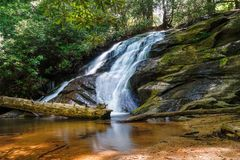 Long Creek Falls Stock Photography