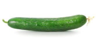 Long cucumber Stock Photo