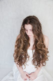 Long curls Royalty Free Stock Photos