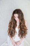Long curls Royalty Free Stock Photos