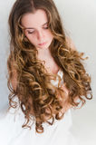 Long curls Stock Images