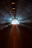 Long Dark Road Tunnel Royalty Free Stock Photos