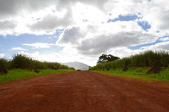 Long Dirt Road Scenic Royalty Free Stock Image