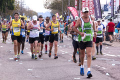 Long distance runners at Comrades Ultra Marathon Stock Photos