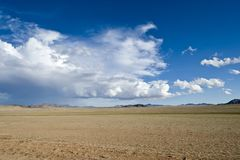 Vastness in desert of South Namibia royalty free stock photos