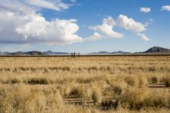 Vastness in South Namibia Royalty Free Stock Image
