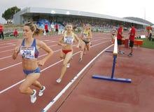 Long distance women race Royalty Free Stock Photo