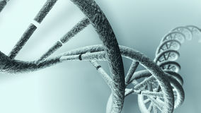 Long DNA strand Royalty Free Stock Photo