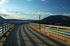 Long dock Images libres de droits