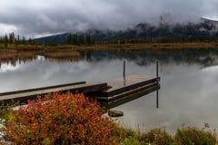 Vermillion Lakes, Banff National Park, Alberta, Canada Royalty Free Stock Image