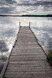 Long dock Stock Image