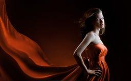 Long dress Stock Image