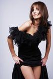Long dress. Stock Photo