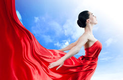 Long dress Stock Photography