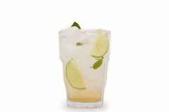 Long drink. The cocktail mojito long  drink Stock Images