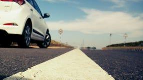 Long drive de la carretera Fotografía de archivo