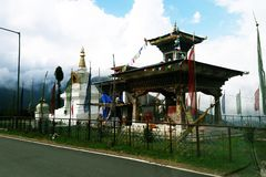 A long drive from Paro to thimpu. stock images
