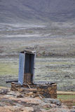 Long Drop toilet, Lesotho. Royalty Free Stock Image