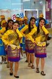 Long Drum Parade Thailand culture Stock Image