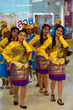 Long Drum Parade Thailand culture Stock Image