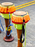 Long drums Stock Photography