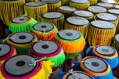 Long  drums  Thai music  instrument Royalty Free Stock Photo