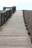 Long empty beach pier Royalty Free Stock Photography
