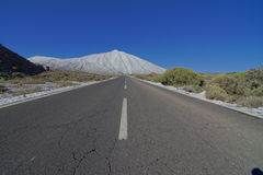 Long Empty Desert Road Stock Photos