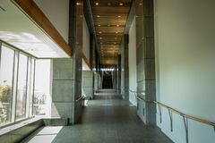 Long Empty Hallway royalty free stock photos