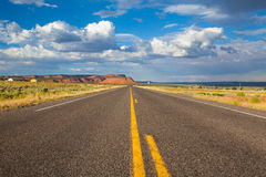 Long empty highway road,Arizona Royalty Free Stock Image