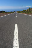 Long empty road Stock Images
